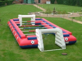 human table football hire inflatable table football human football table hire. Black Bedroom Furniture Sets. Home Design Ideas
